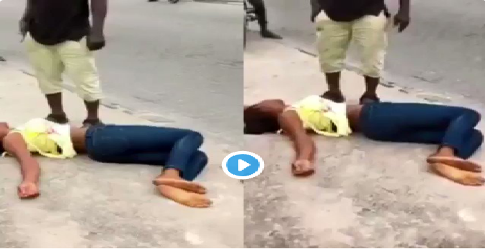 VIDEO: Marry Me Or I Die – Nigerian Lady Threatens Her Long-term Boyfriend
